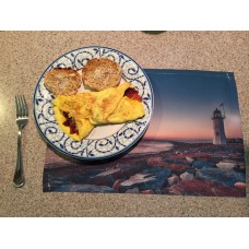 Scituate Light Sunrise Placemat
